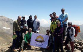 صعود قله ساکا توسط گروه کوهنوردی باشگاه ایران کوهستان