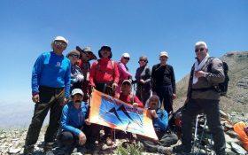 صعود موسسه فرهنگی ورزشی کانون کوه به قله  ۳۵۶۰ متری منار
