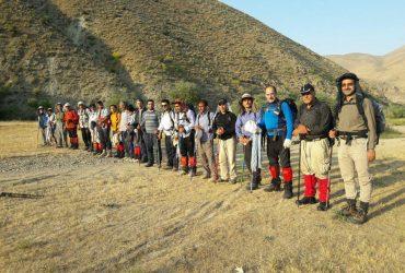 صعود گروه کوهنوردی ساوالان به قله شاه سلیمان