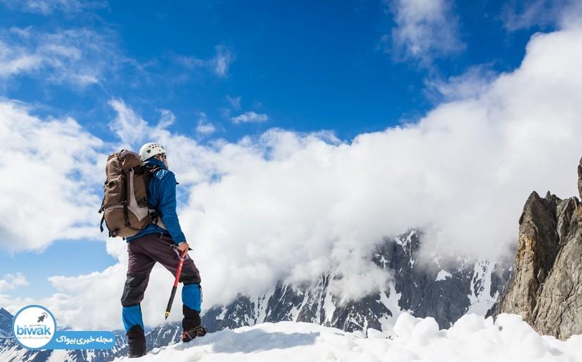 تغذیه مناسب کوهنوردی