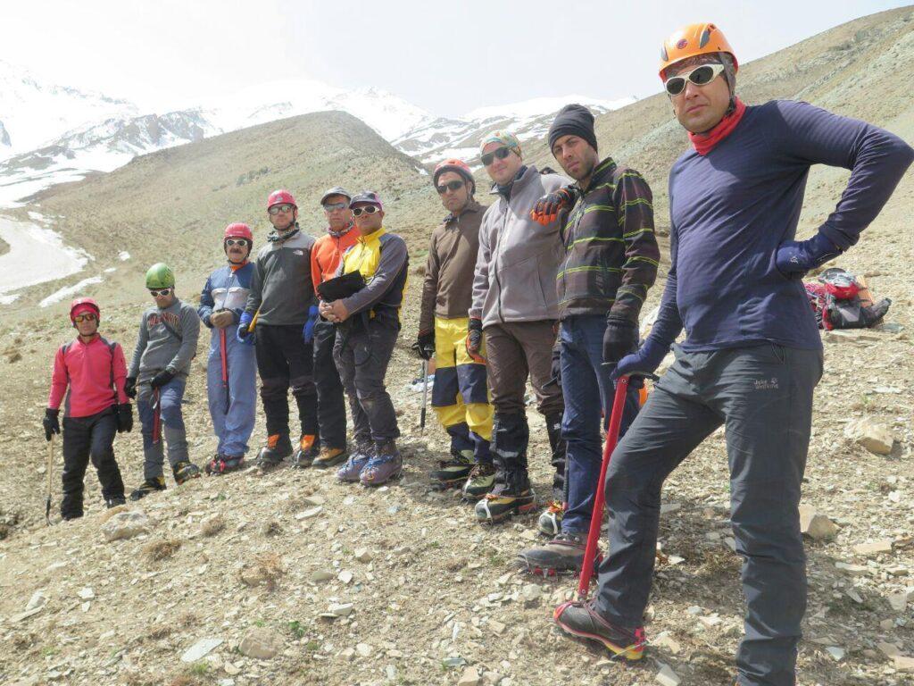 گزارش اردوی آمادگی تیم کوهنوردی کارل مارکس