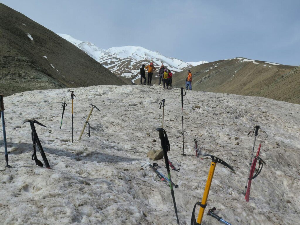 گزارش دومین اردوی آمادگی تیم کوهنوردی کارل مارکس