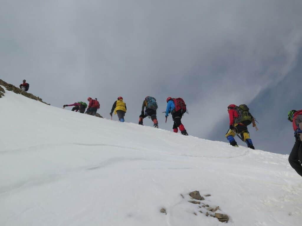 برگزاری سومین اردوی آمادگی تیم کوهنوردی کارل مارکس